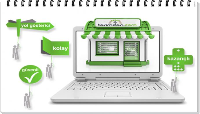 Tarimdan.com ' la Tarım'da E-Ticaret devri başlıyor