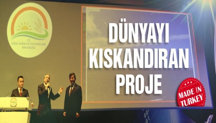 Türk tarımına çağ atlatan dev proje