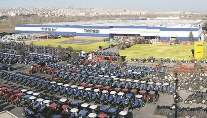 TürkTraktör ün ihracat oranı % 48  arttı
