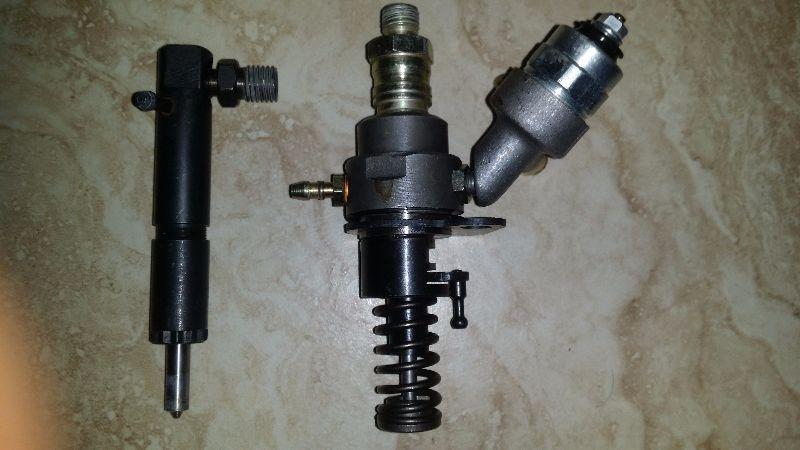 12 hp mazot pompası -enjektör