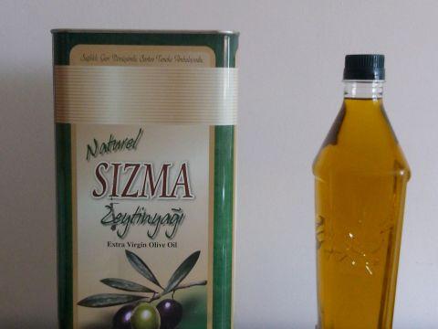 yeni mahsül organik saf sızma zeytinyağı