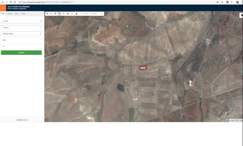 Ankara Gölbaşı Dikilitaş Mahalles 23215m2 tek tapu yatırımlık