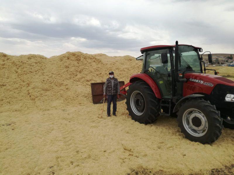Arpa buğday karışık saman