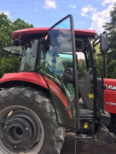 Case 100 lük şöförlü traktör kiralık
