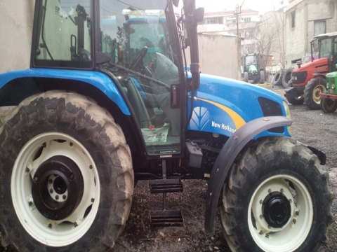 New Holland - TL100A - 2007 Model - Klima Kabin - 4x4