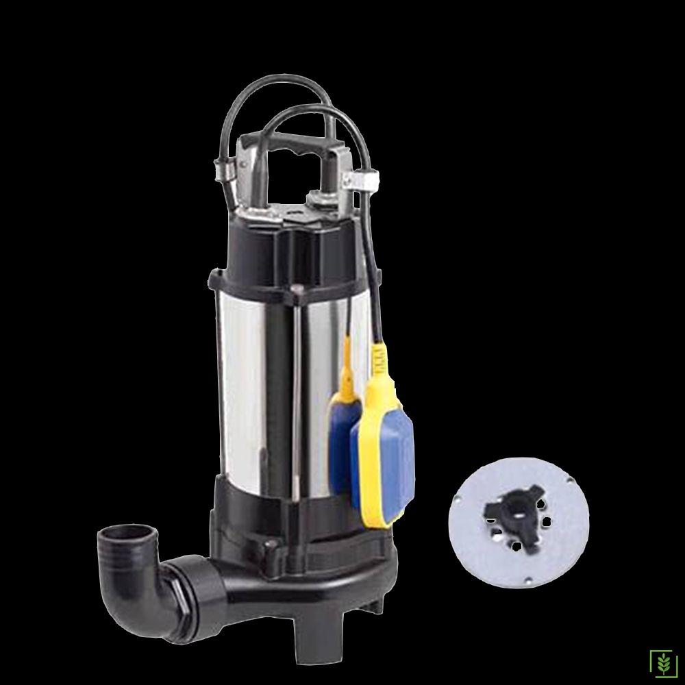 Duffmart V1300DF Pis Su Foseptik Bıçaklı Parçalayıcılı Dalgıç Pompa