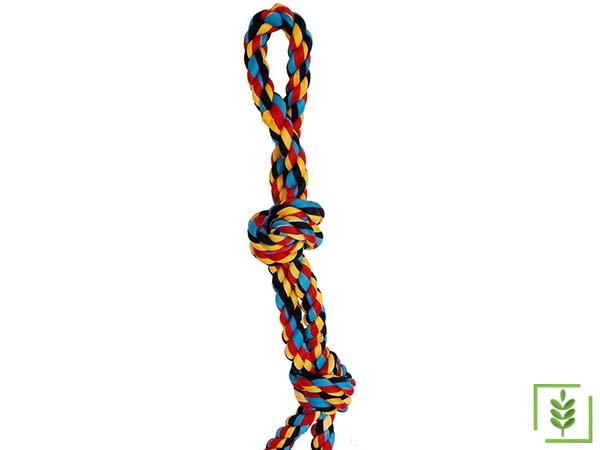 Eastland Renkli Düğümlü Köpek Stres Diş İpi 52 cm