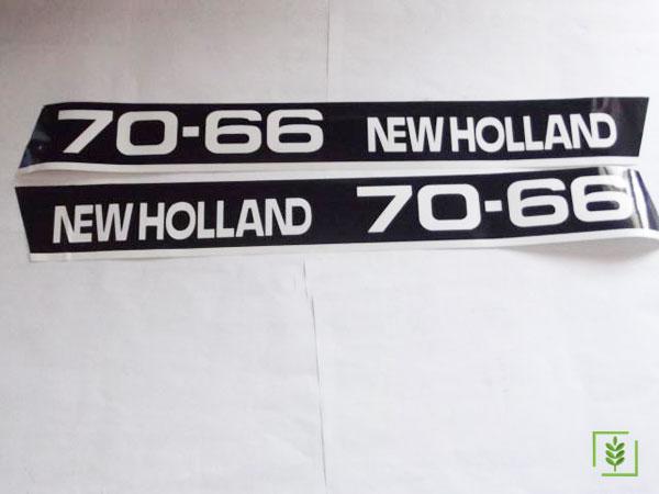 Fıat 70/66 Yan Yazı Takım (Newholland) - (5087773)
