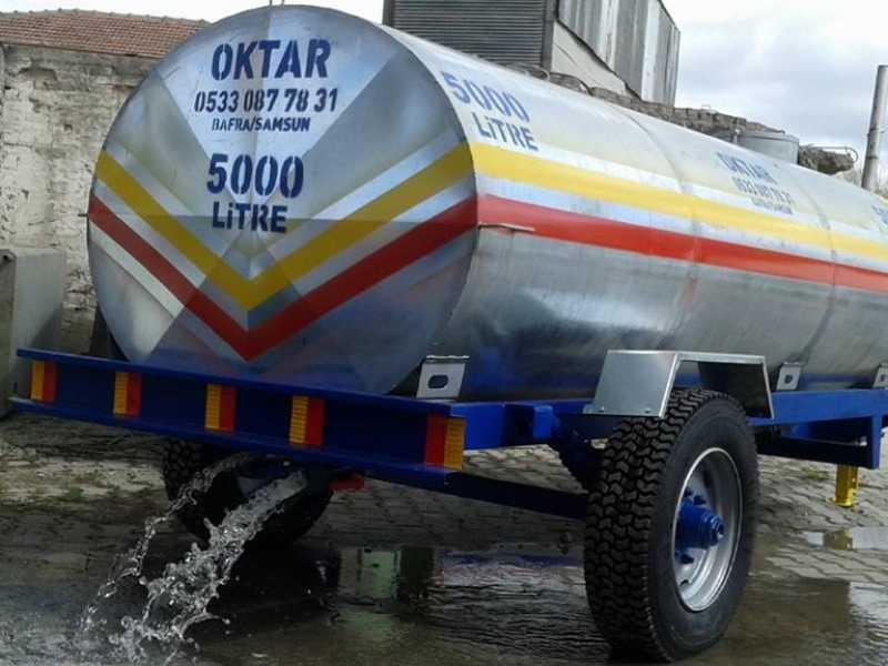 Galvanizli Paslanmaz Su Tankeri (5000 L)