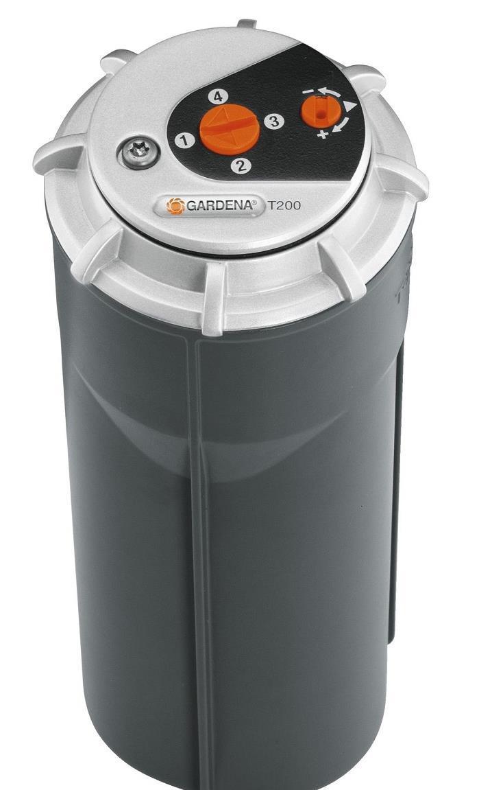 Дождеватель gardena turbo t200 premium (8204-29)