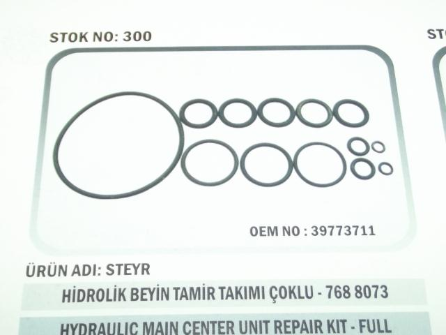 Steyr Hidrolik Beyin Tamir Takımı Çoklu (300) - Steyr-8073 (39773711)
