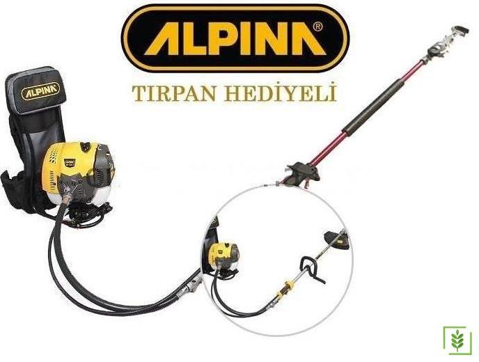 Alpina Motorlu Zeytin Hasat Makinası ve Tırpan