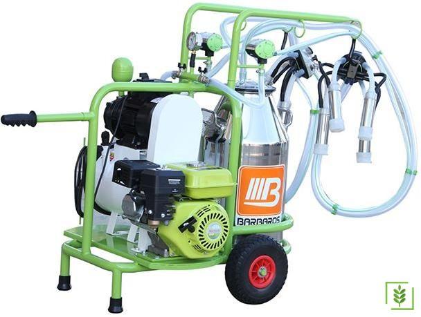 Bartech Benzin Motorlu İnek  Sağım Makinesi