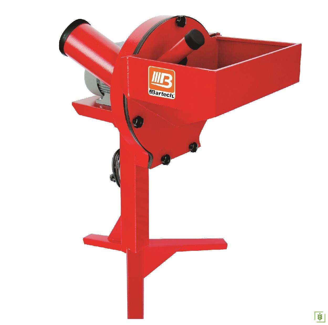 Bartech Elektrikli Yem Kırma Makinesi 4 Hp