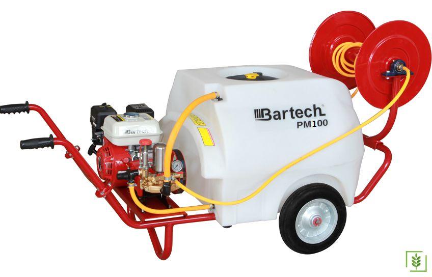 Bartech PM100 Benzinli İlaçlama Makinesi 100 lt