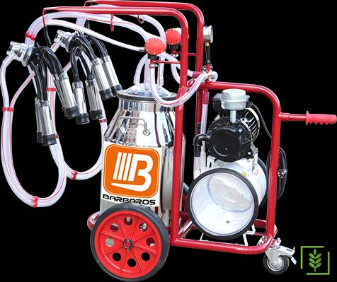 Bartech Universal Model Çift Sağım İnek Sağım Makinesi