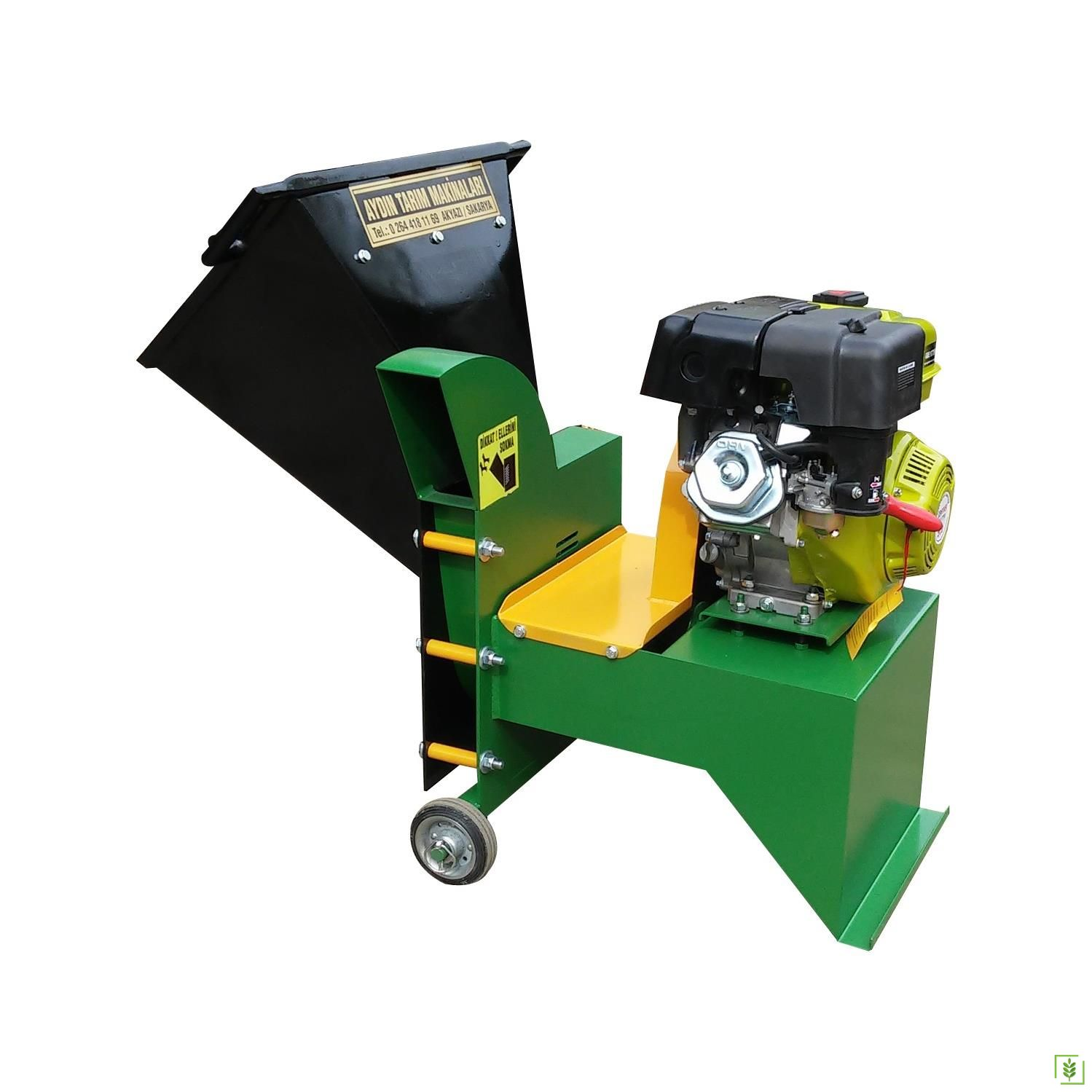 Benzinli Dal Öğütme Parçalama Makinası 9 Hp