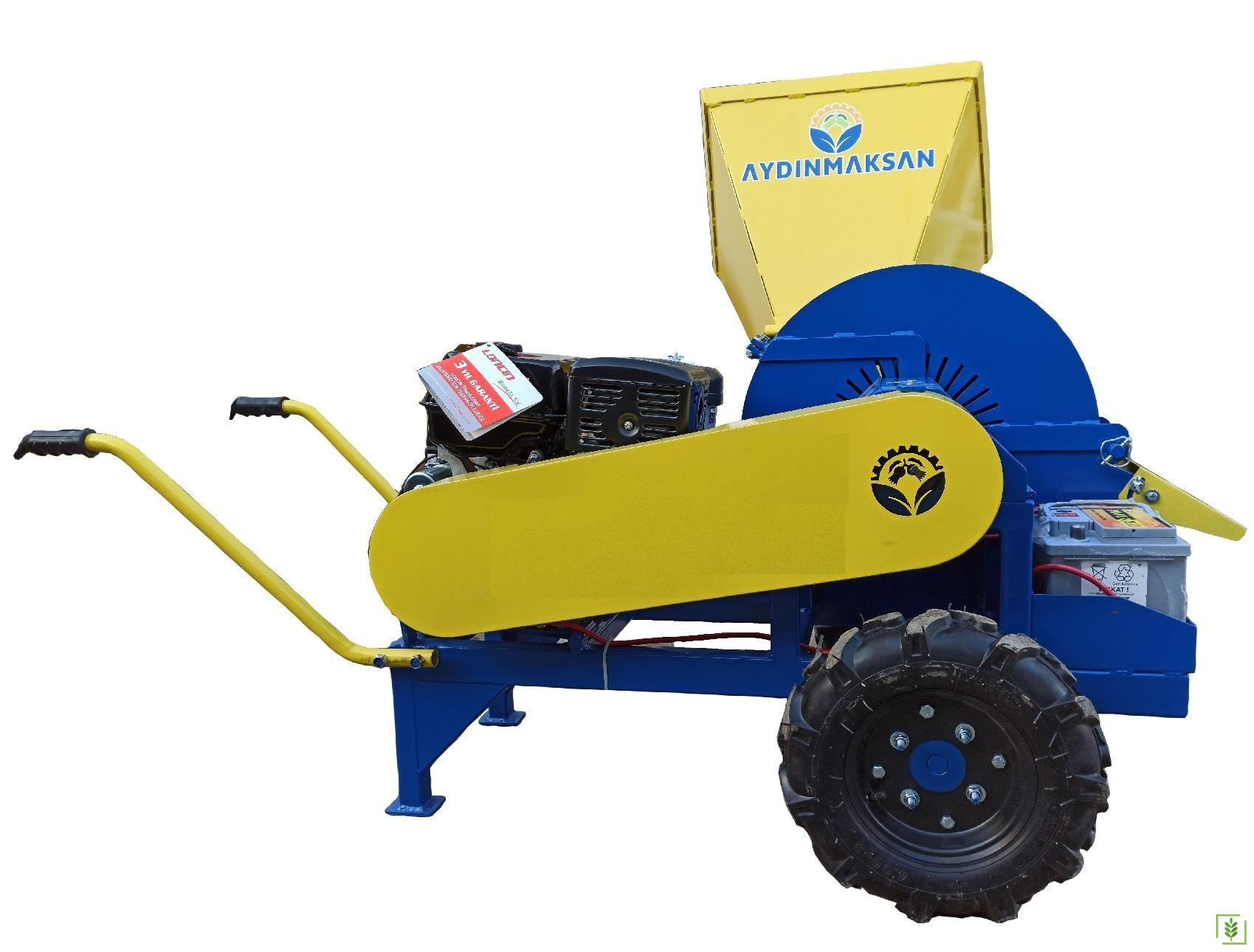 Benzinli Dal Öğütme Parçalama Makinası -Bacasız 15 Hp