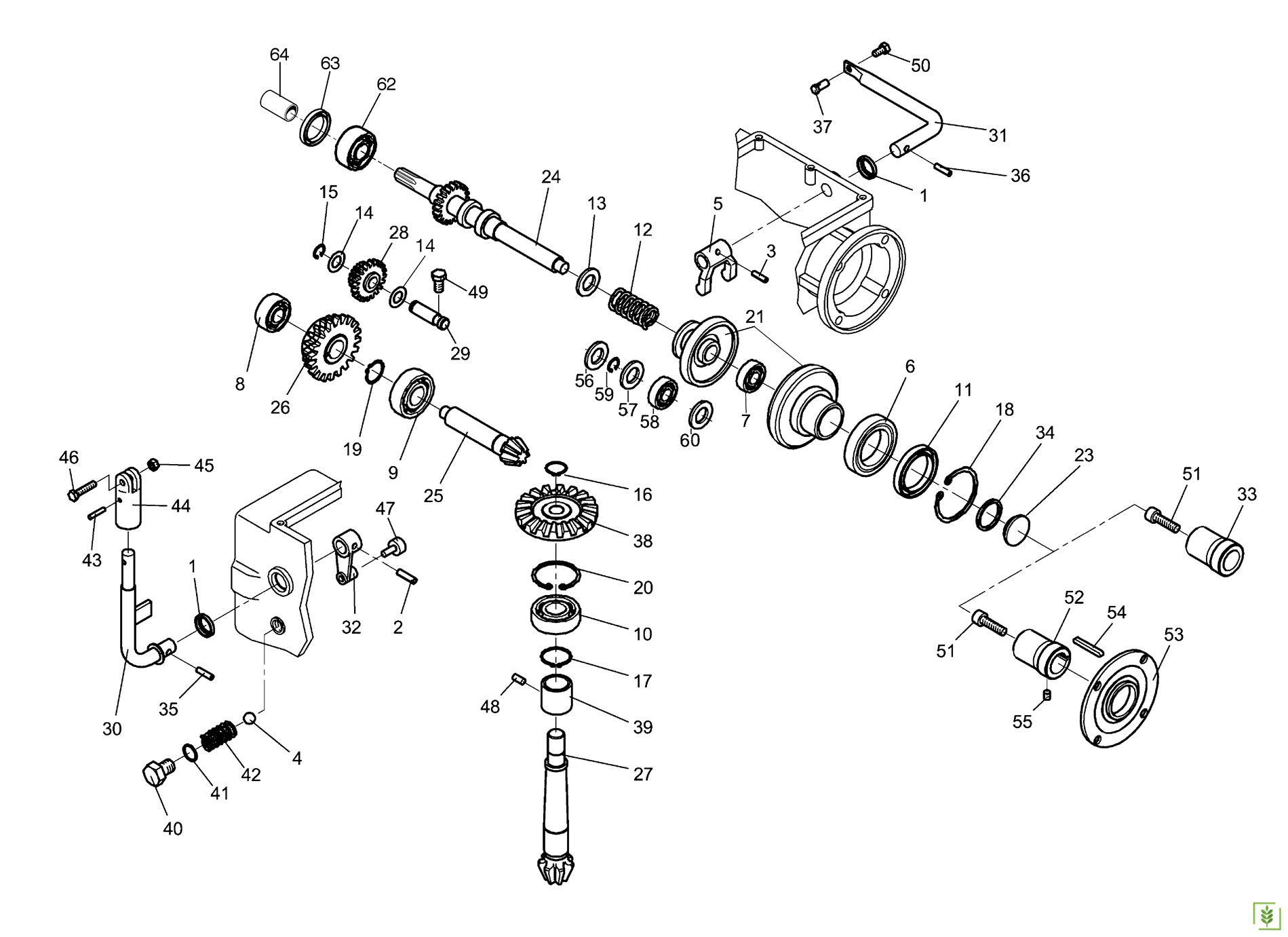 Bertolini 215 Çapa Makinası Vites Dişlisi No-28