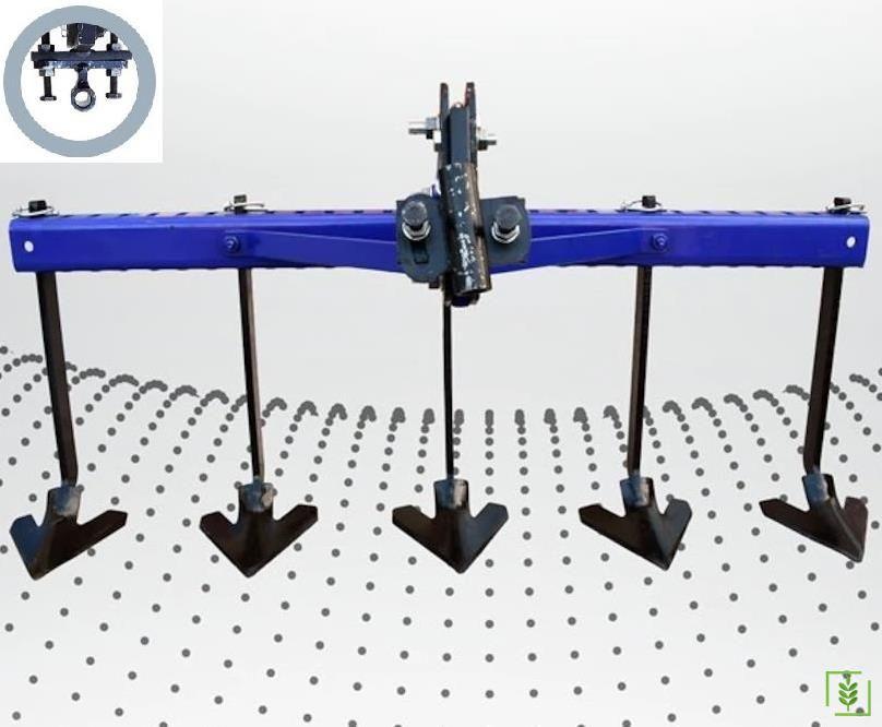 Çapa Makinası 5'li Kaz Ayağı - Düz Bağlantılı