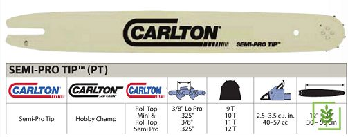 Carlton 91-28.5 Diş Semi Pro Testere Kılavuzu