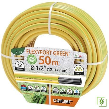Claber 9133 Hortum Flexyfort Green 50M Çap 1/2