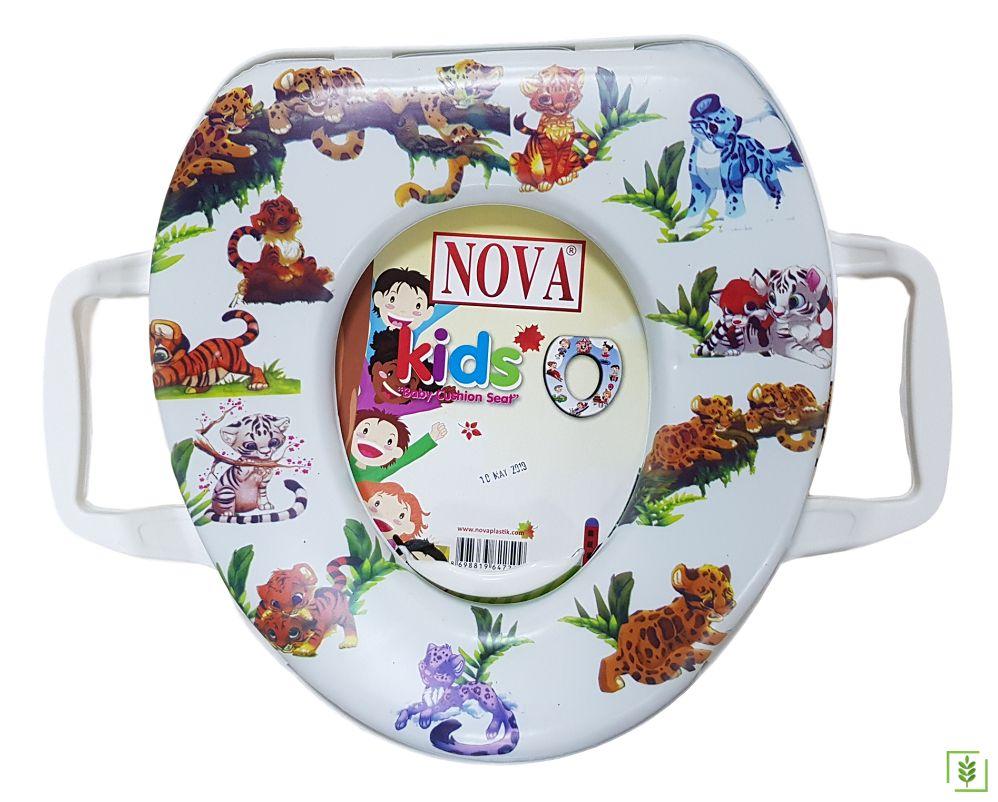 Comfort 2057 Eco Aslan Alemi Erkek - Kız Çocuk Klozet Kapağı