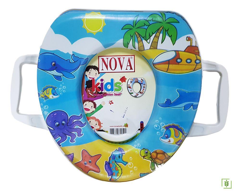Comfort 2057 Eco Deniz Dünyası Erkek - Kız Çocuk Klozet Kapağı
