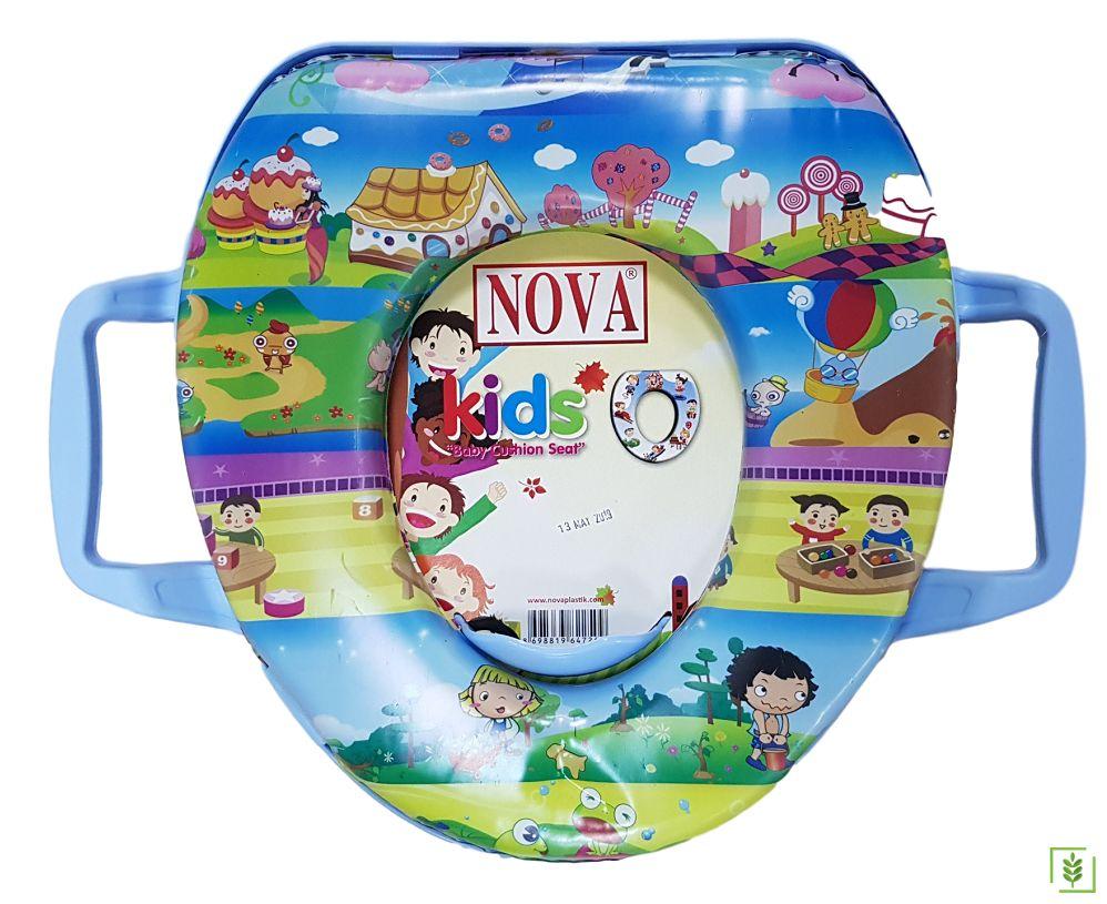 Comfort 2057 Eco Şekerler Alemi Erkek - Kız Çocuk Klozet Kapağı