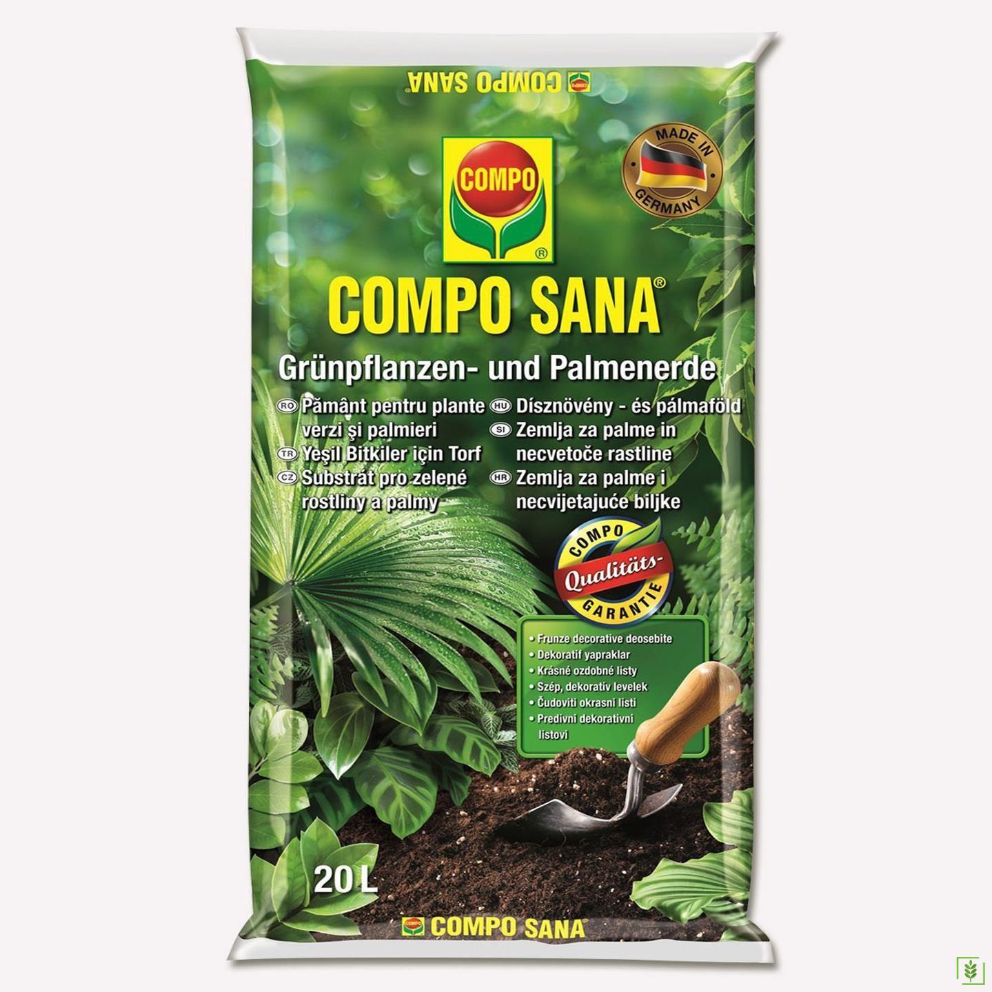 Compo 1451 Yeşil Bitkiler Ve Palmiyeler İçin Toprak 20 Lt