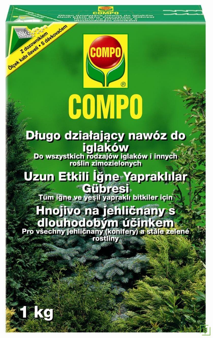 Compo 2736 Uzun Etkili İğne Yapraklılar Gübresi 1 Kg