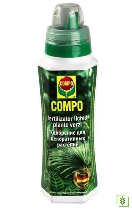 Compo 4429 Yeşil Bitkiler İçin Sıvı Gübre 500 ml
