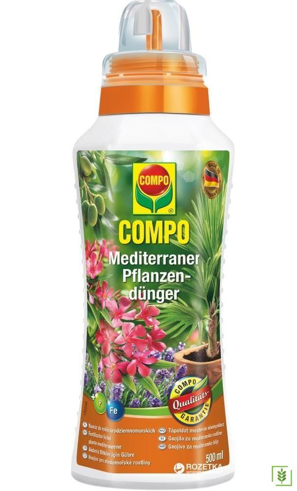 Compo 5005 Akdeniz Bitkileri İçin Sıvı Gübre - 500 ml