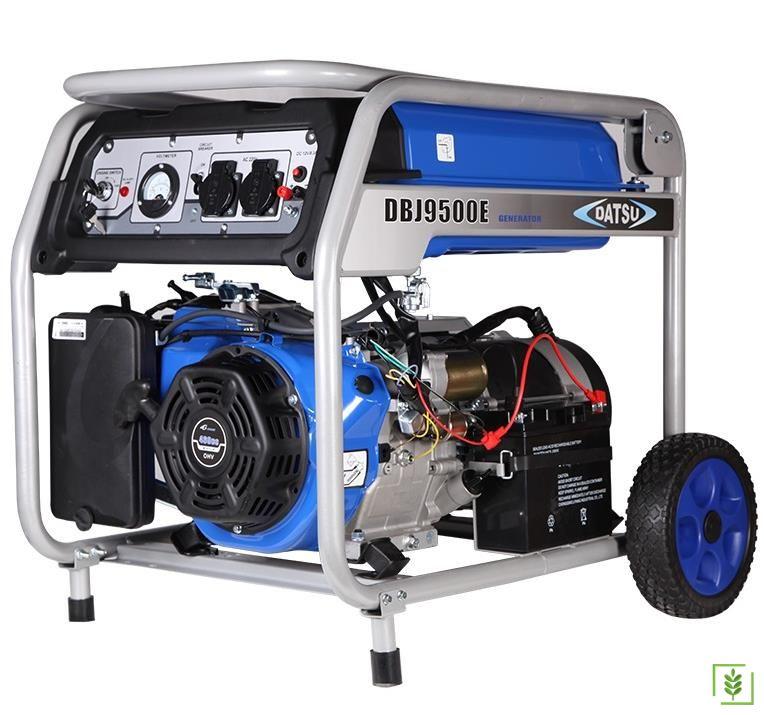 Datsu Dbj 9500E Marşlı Benzinli Monofaze Jeneratör 8 Kva
