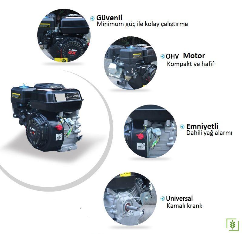 Datsu DTS 200 Benzinli Motor 6.5 Hp