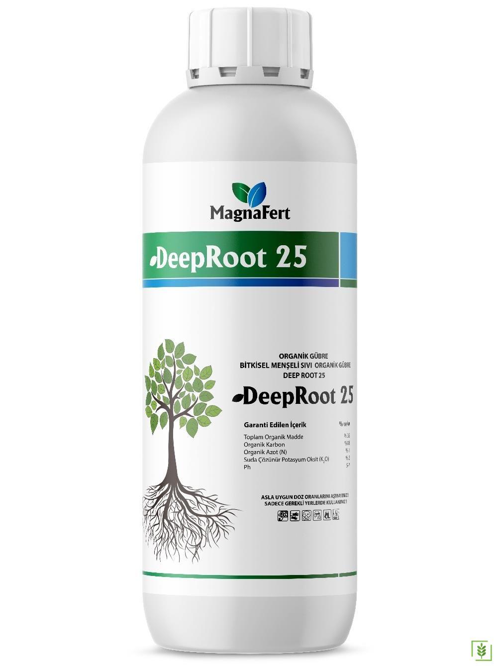 DeepRoot 25 Organik Sıvı Gübre 1 lt