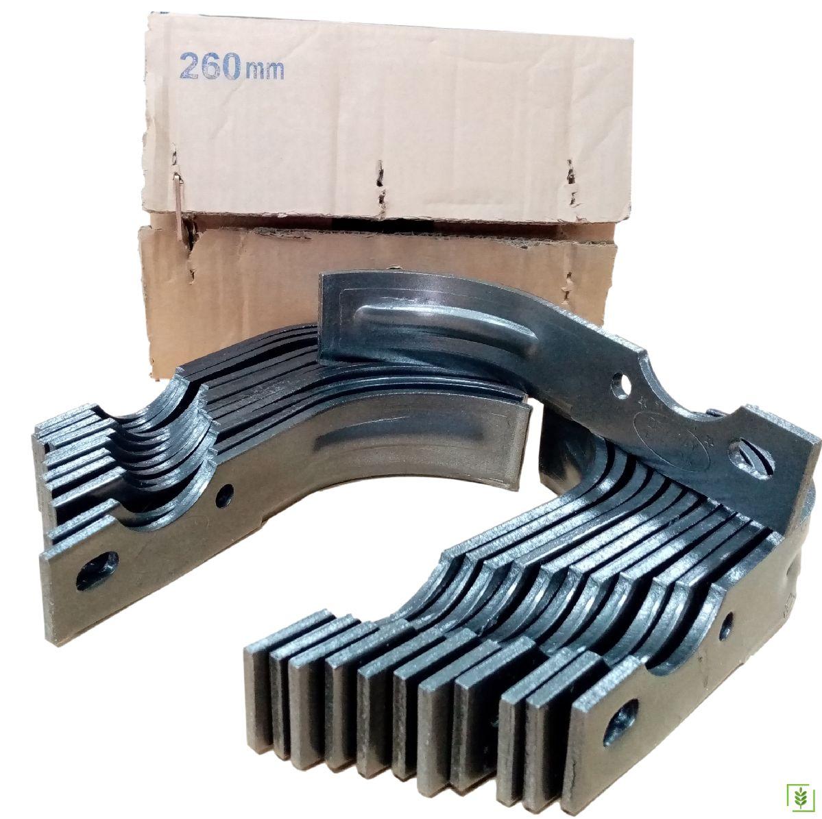 Dizel Modeller Federli Süper Çelik Çapa Bıçağı  24 Adet 26 cm