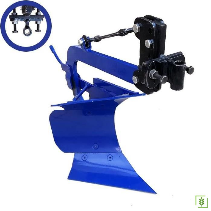 Dönerli Çapa Makinası Pulluğu - Düz Bağlantı Mavi