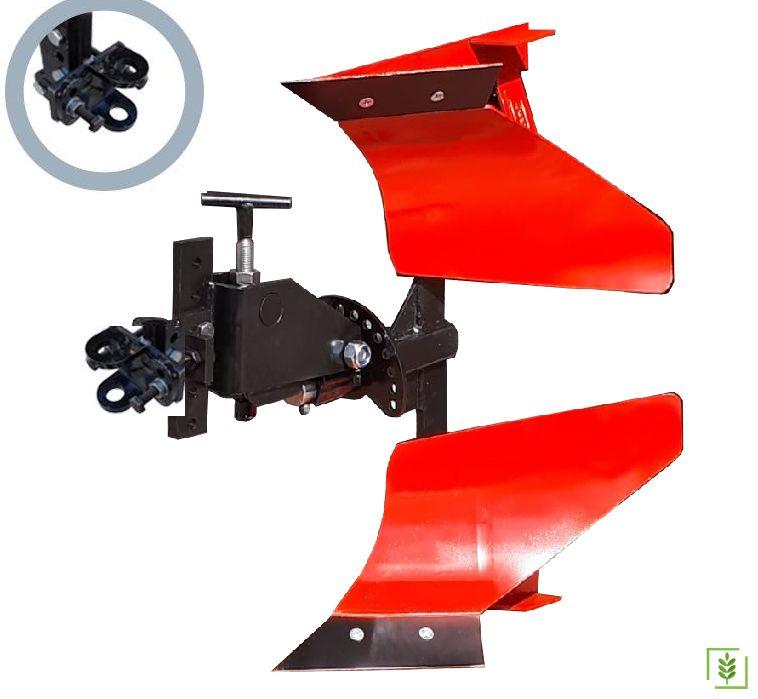 Dönerli Çapa Makinası Pulluğu - Kurt Ağız Bağlantılı Kırmızı