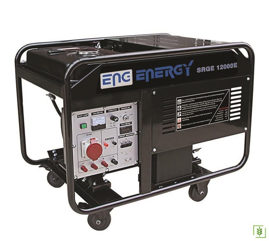 Energy SRGE 12000 TE Trifaze Benzinli Jenerator