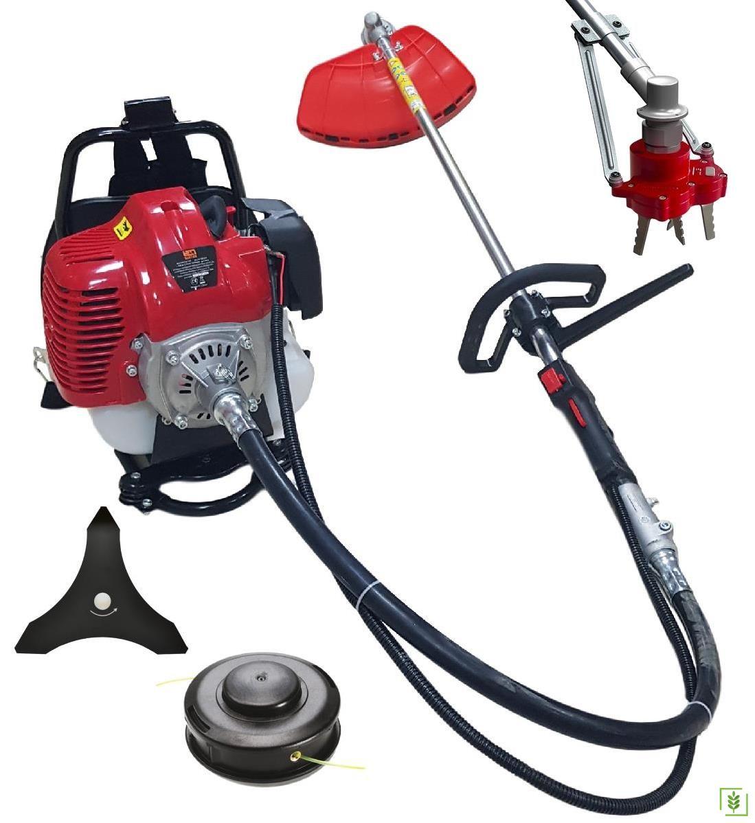 Garden Pro BG520 Benzin Motorlu Tırpan + Çapa Aparatı