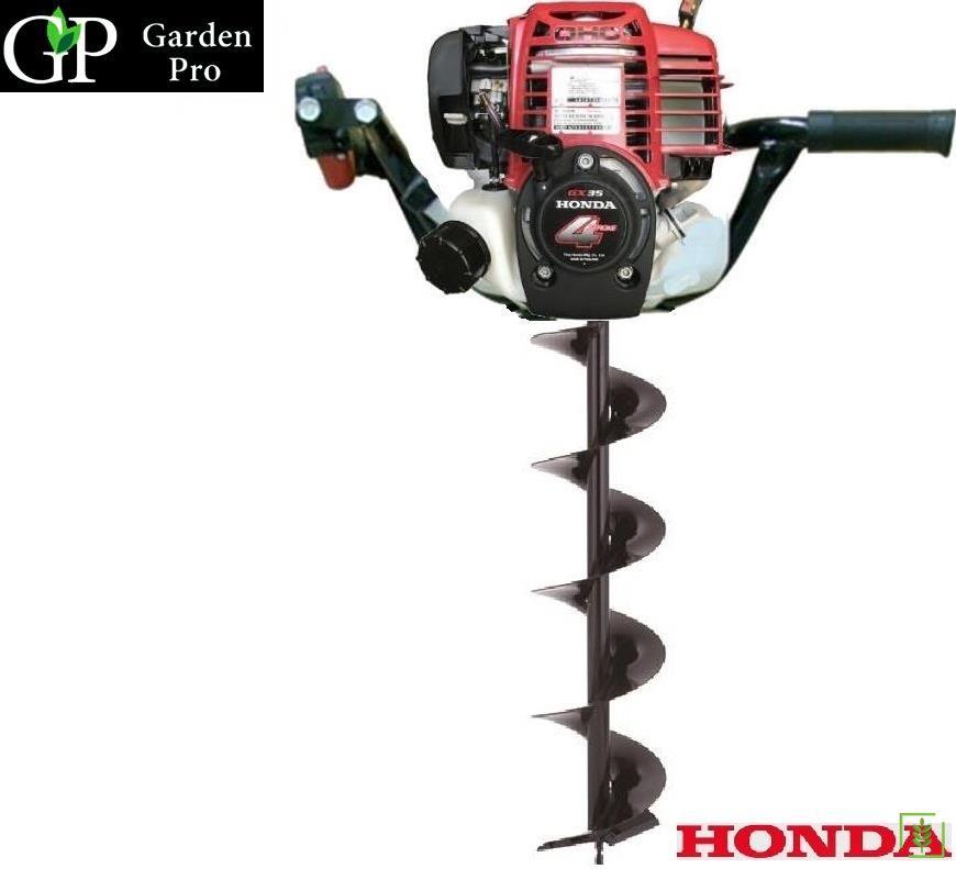 Garden Pro Honda GX35 Motorlu Toprak Burgu Makinası 150 mm