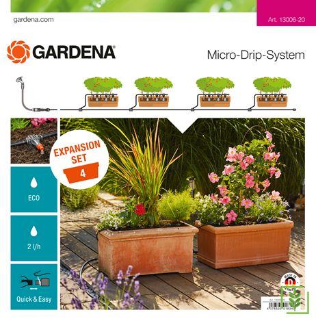 Gardena 13006 Çiçeklik Genişleme Seti
