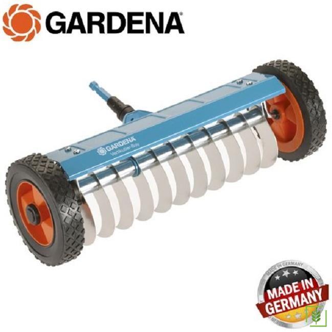 Gardena 3395 Tekerlekli Çim Havalandırma Tırmığı