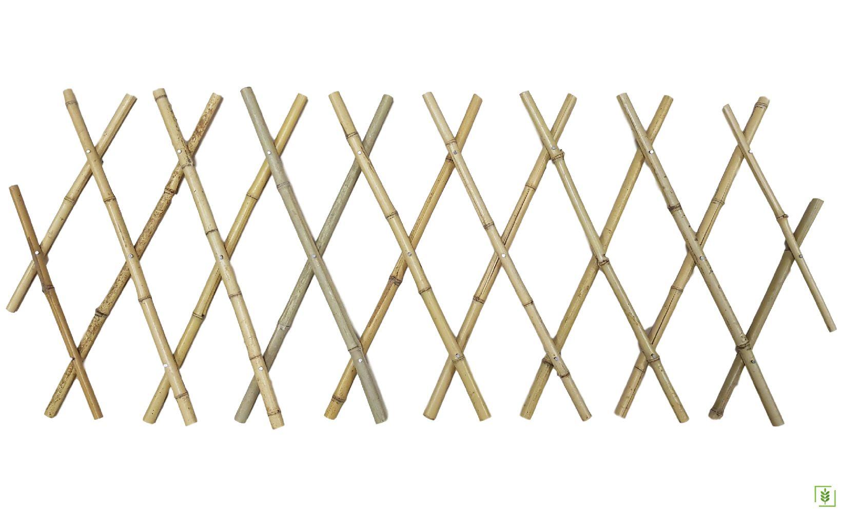 Gardener Akordiyon Bambu Bahçe Çiti 45x180 cm