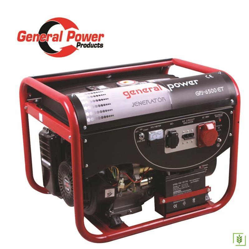 General Power GPJ-6500E Benzinli Jenaratör