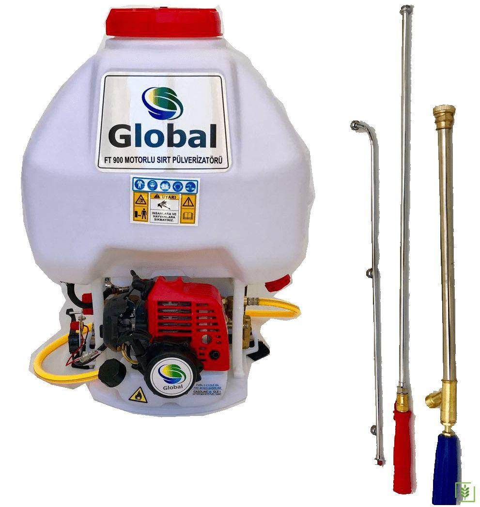 Global FT 900 Benzinli İlaçlama Makinesi 28 Lt