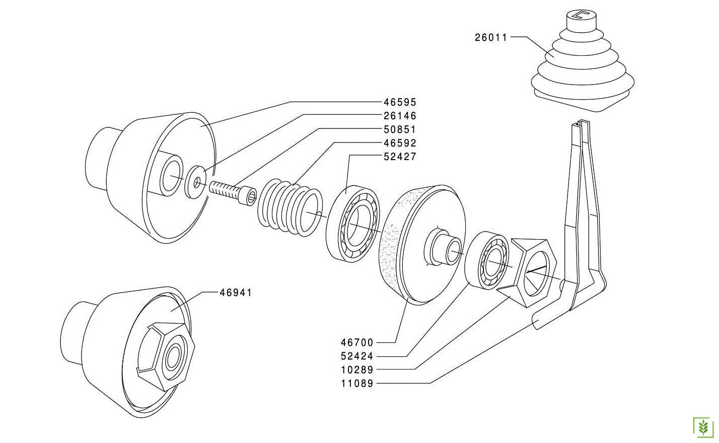 Grillo 3500-11500-12000 Debriyaj Koniği Eski Model
