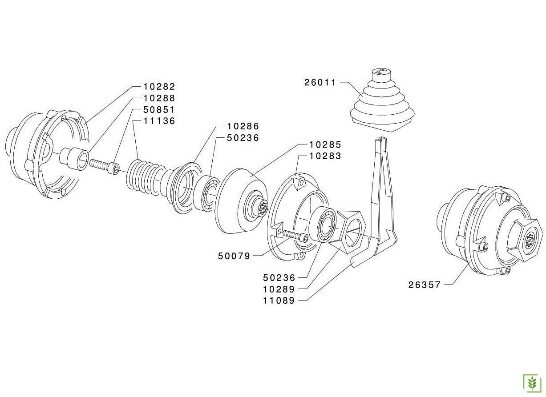 Grillo G85D -12000 Debriyaj Koniği