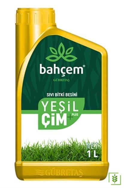 Gübretaş Yeşil Çim Plus  Sıvı Gübre 1 lt